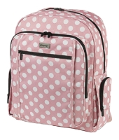 Oliepops Polka Dot Rucksack-Backpack for 15.4