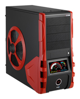 AeroCoolV12 Black/red