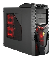 AeroCoolX-Warrior Devil Red Edition Black