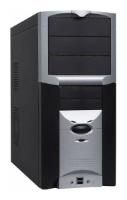 EurocaseMD6204 350W Black/silver