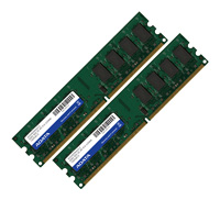 A-Data DDR2 800 DIMM 1Gb (Kit 2x0.5Gb)