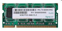 ApacerDDR2 800 SO-DIMM 512Mb