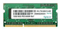 ApacerDDR3 1066 SO-DIMM 1Gb