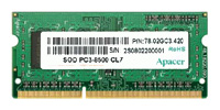 ApacerDDR3 1066 SO-DIMM 2Gb