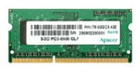 ApacerDDR3 1066 SO-DIMM 4Gb