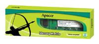 ApacerDDR3 1333 DIMM 512Mb