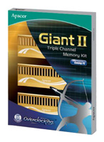 ApacerGiant II DDR3 1600 DIMM 6GB