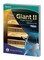 ApacerGiant II DDR3 2000 DIMM 6GB