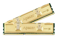 Apacer Golden DDR3 1600 DIMM 2GB Kit