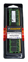 DigmaDDR2 667 DIMM 256Mb