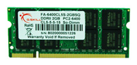 G.SKILLFA-6400CL5S-2GBSQ