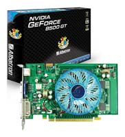 Albatron GeForce 8500 GT 450Mhz PCI-E 256Mb