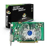 AlbatronGeForce 8600 GT 540Mhz PCI-E 512Mb