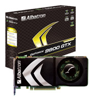 AlbatronGeForce 9800 GTX 650Mhz PCI-E 2.0