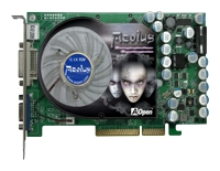 AopenGeForce 6600 GT 500Mhz AGP 128Mb