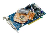 ASUSGeForce 6600 GT 520Mhz AGP 128Mb