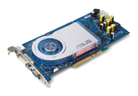 ASUSGeForce 6800 GT 350Mhz AGP 128Mb