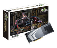 Axle GeForce 9800 GX2 600Mhz PCI-E 2.0