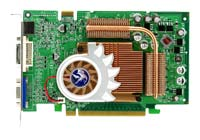 Biostar GeForce 6600 GT 510Mhz PCI-E 128Mb