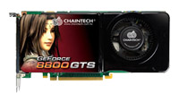 ChaintechGeForce 8800 GTS 650Mhz PCI-E 2.0