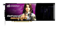 ChaintechGeForce 9800 GX2 600Mhz PCI-E 2.0