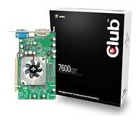 Club-3DGeForce 7600 GT 560Mhz AGP 256Mb