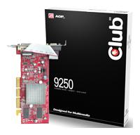 Club-3DRadeon 9250 240Mhz AGP 128Mb 400Mhz