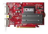 Club-3DRadeon X1550 600Mhz PCI-E 512Mb 800Mhz