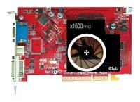 Club-3DRadeon X1600 Pro 500Mhz AGP 512Mb