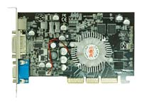 Colorful GeForce 6200 300Mhz AGP 128Mb 500Mhz