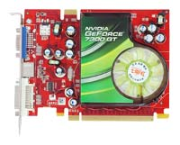 ColorfulGeForce 7300 GT 350Mhz PCI-E 128Mb