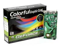 Colorful GeForce 7950 GX2 500Mhz PCI-E 1024Mb