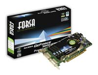 Forsa GeForce 8600 GTS 675Mhz PCI-E 256Mb
