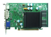 Jetway GeForce 7200 GS 450Mhz PCI-E 32Mb