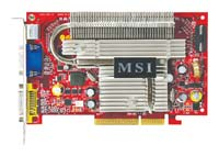 MSIGeForce 7600 GS 400Mhz AGP 512Mb