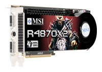 MSI Radeon HD 4870 X2 750Mhz PCI-E