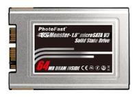 """PhotoFast1.8"""" GMonster microSATA V3 SSD 64GB"""