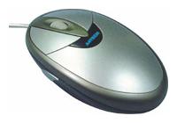 A4TechSWOP-45 Silver-Black USB+PS/2