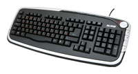 ACMEMultimedia Keyboard KM05 Black-Silver USB