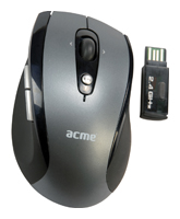 ACME Wireless mouse MW01 Silver-Black USB