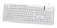 CanyonCNR-KEYB7-RU White-Orange USB+PS/2