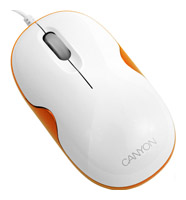 Canyon CNR-MSL8O Orange USB+PS/2