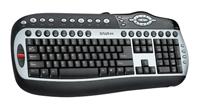 DeluxDLK-8000 Black-Silver USB+PS/2