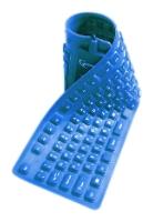 GembirdKB-109F-Bl-RU Blue USB+PS/2