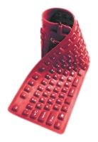 GembirdKB-109F-R-RU Red USB+PS/2