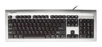 GembirdKB-210U-SB-R Silver-Black USB