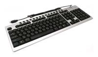 GembirdKB-8300M-SB Black-Silver PS/2