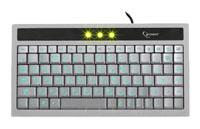 GembirdKB-9627LU-R Silver-Black USB