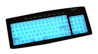 GembirdKB-9835EL-R Black PS/2
