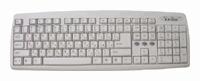 GeniusComfy KB-06X White AT+PS/2